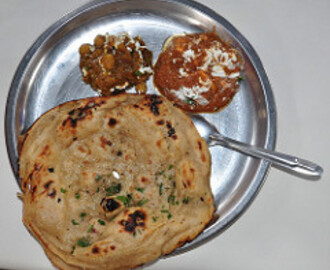 Paneer paratha-Cottage Cheese stuffed in Whole Wheat parathas