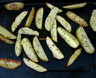 Baked Potato Wedges | Kids Snack Recipe!