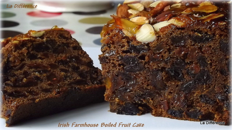 Irish Farmhouse Boiled Fruit Cake ( the easiest Fruit Cake you will ever make)