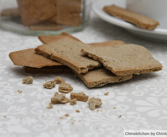 Free from Friday's:  Baked Millet flour and fenugreek crackers