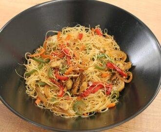 Recetas de de guiso de fideos mytaste - Arroz con verduras light ...