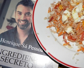 ARROZ COM ATUM E OVOS do Chefe HSP