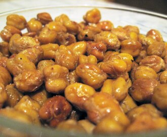 Roasted Chickpeas - a healthy snack