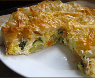 Good Energy Cooking - Vegetable Filo Pastry Tarts