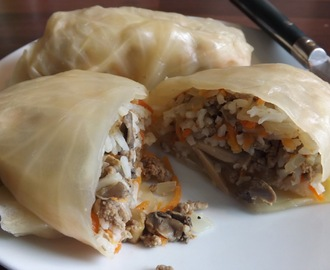 Weightwatchers Stuffed Cabbage Rolls