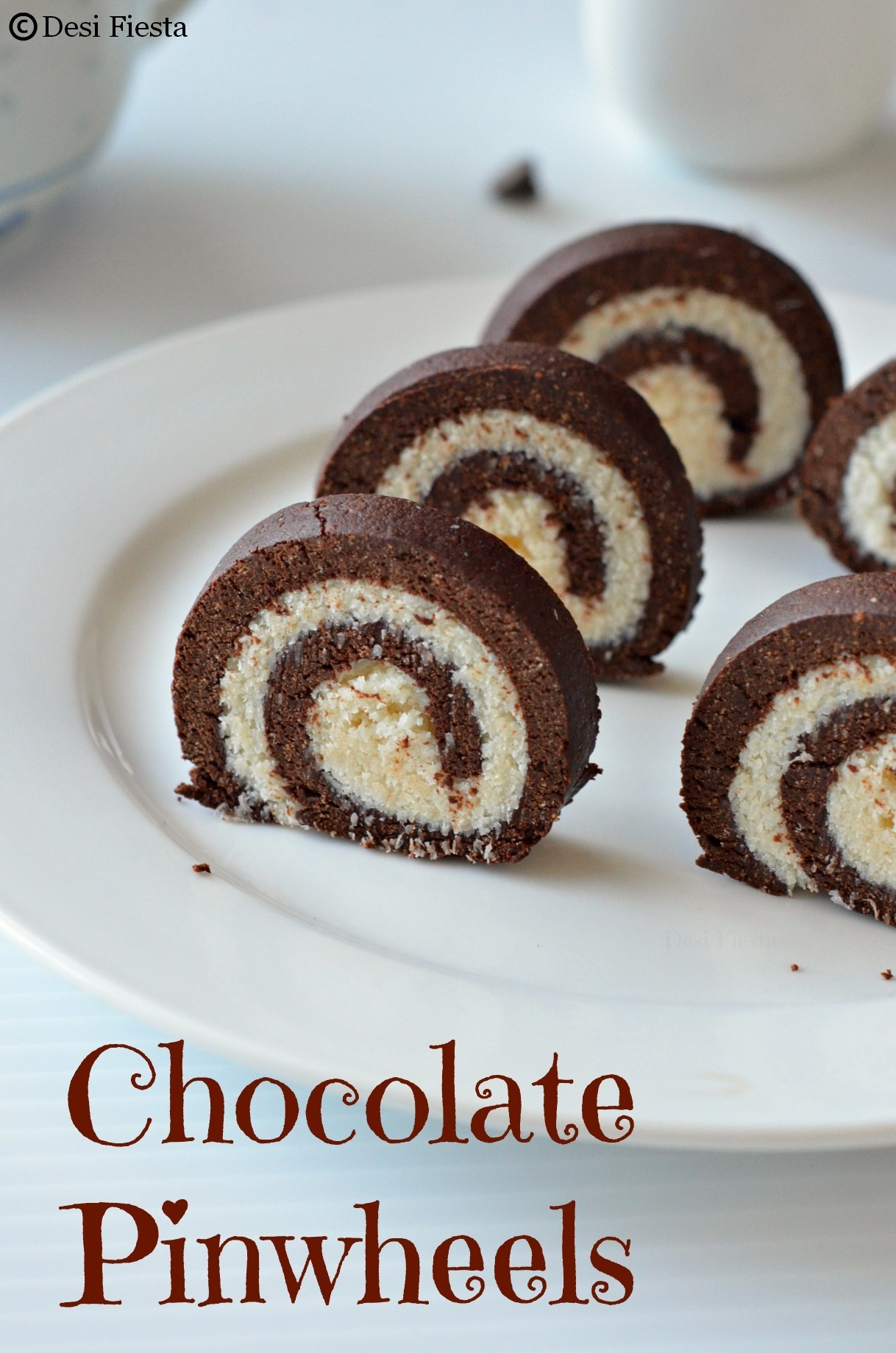 Chocolate Pinwheels |No cooking or Baking Recipe
