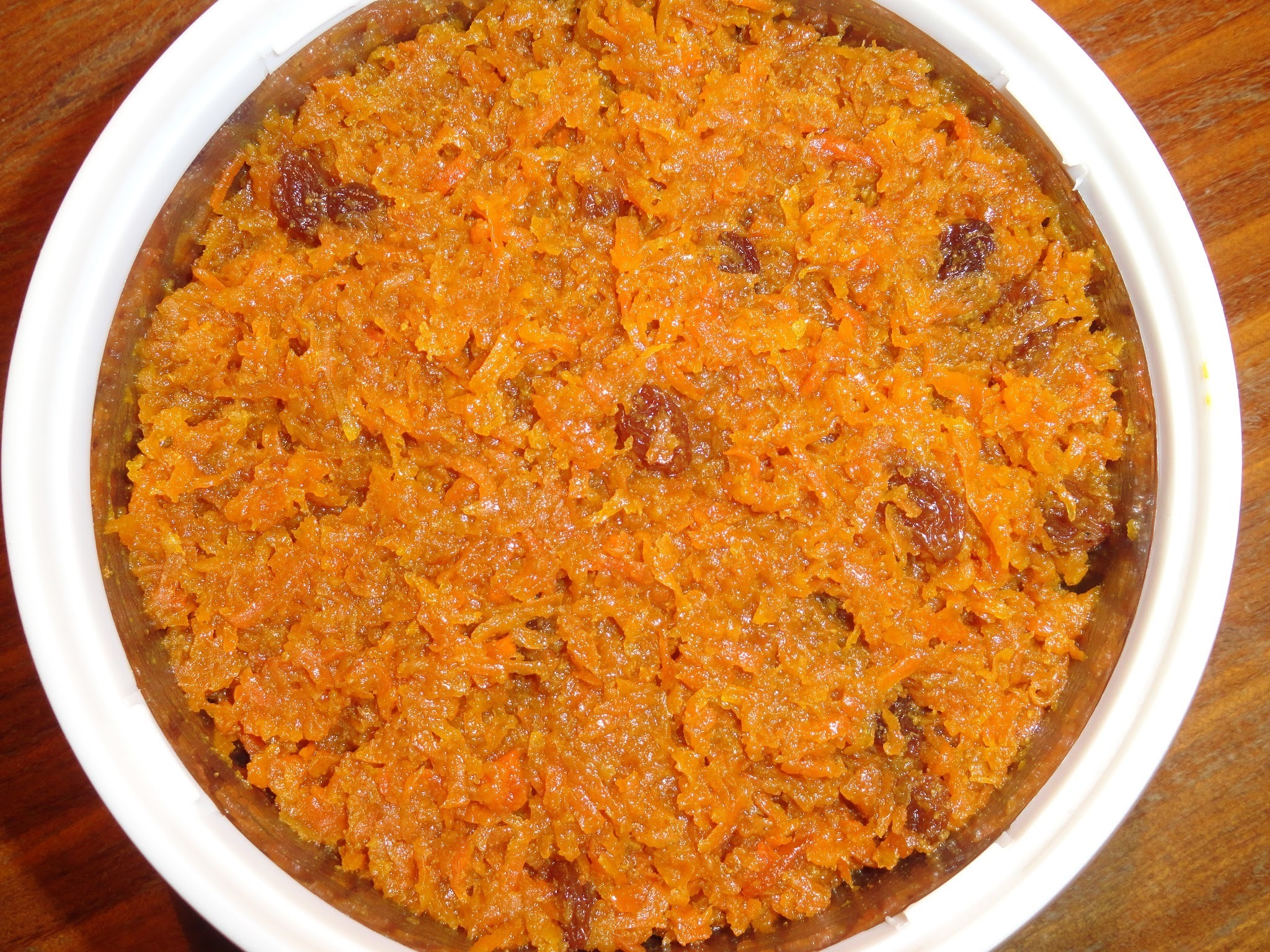 Carrot Halwa/Sweet Carrot Pudding