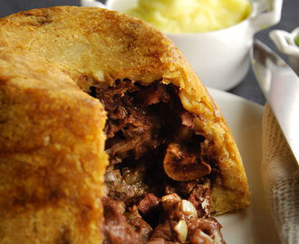Steak and kidney pudding recipe