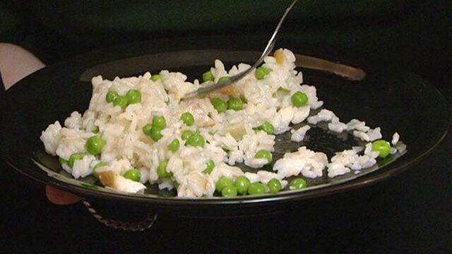 Microwave smoked haddock risotto recipe
