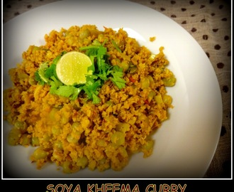 Soya Kheema Curry