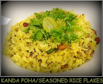 Kanda Poha/Seasoned Rice Flakes