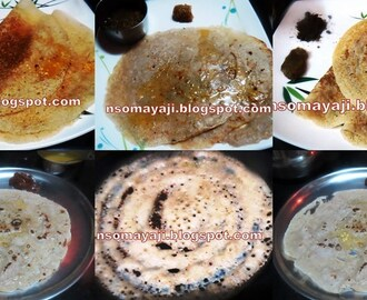Broken Wheat - Rice flour dosa