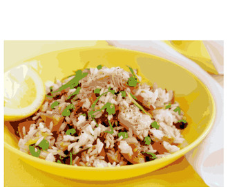 Tuna Rice Salad Recipe (Suitable for a low FODMAP diet)