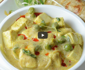 Paneer Matar Methi Malai Recipe Video