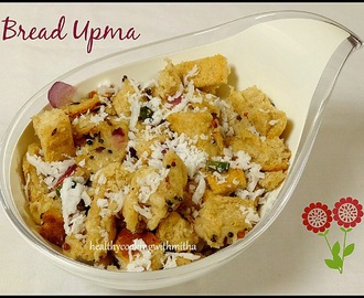 Bread Upma | Bread Usli | South Indian Style