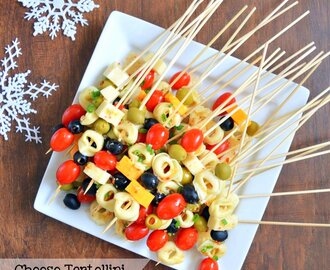 Cheese Tortellini Party Appetizer