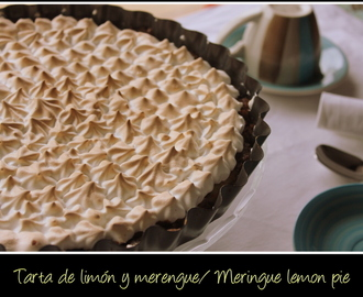 Tarta de limón y merengue/ Meringue lemon pie