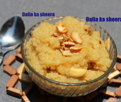 Broken wheat/dalia ka sheera recipe