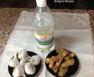 The 3 Most Important Ingredients used in Anglo-Indian Cooking – Vinegar, Ginger and Garlic Paste and Oil