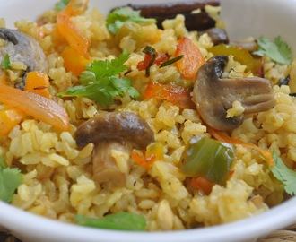 Brown Rice Vegetable Pilaf