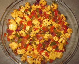 QUICK CHILLY PANEER