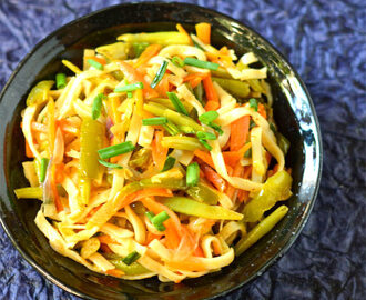 Vegetable Hakka Noodles Recipe | Indo Chinese Recipes