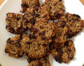 Healthy Banana, Oat and Chocolate Chip Cookies