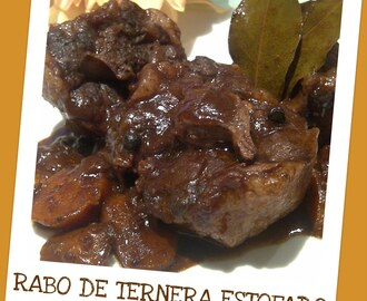RABO DE TERNERA ESTOFADO CON CHOCOLATE (TOUCH ADVANCE)