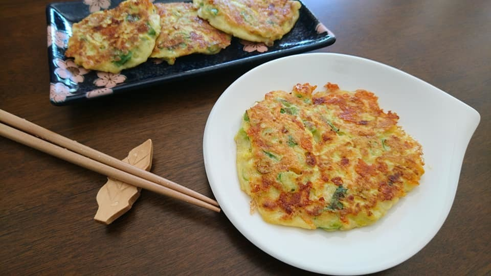 香蔥雙瓜起士煎餅  Sweet Potatoes Zucchini Pancake