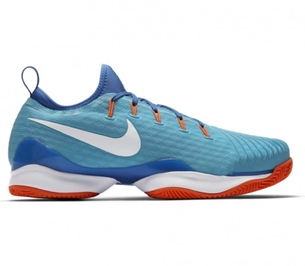 Nike - Air Zoom Ultra Fly Low Clay men's tennis shoes (light blue/white) - EU 44,5 - US 10.5