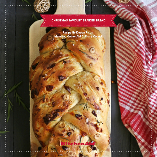 Christmas Savoury Braided Bread