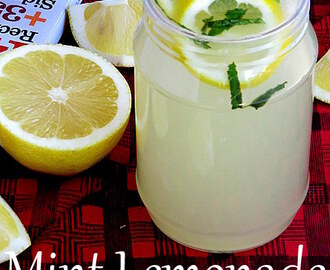 Mint Lemonade | Nimbu Paani