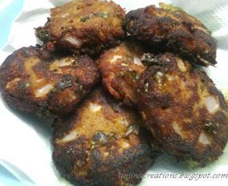 SHAMI KABAB (MINCED MEAT CUTLETS)
