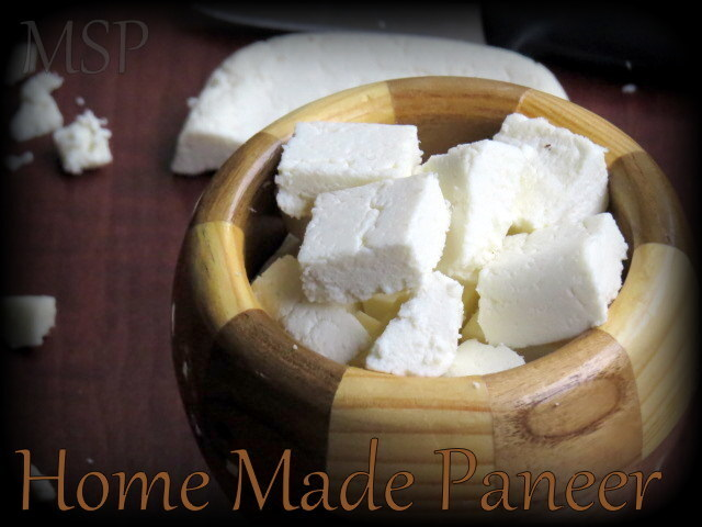 Paneer Home Made (Indian Cottage Cheese)