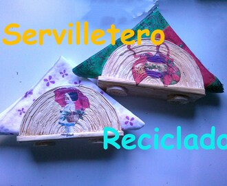 Servilletero reciclado
