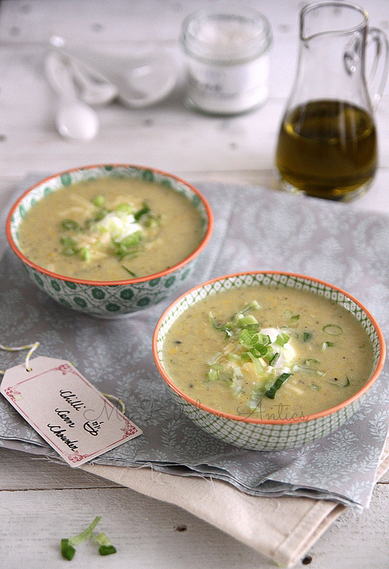 Jamie Oliver 20 minute meals app review and his recipe for chilli corn chowder
