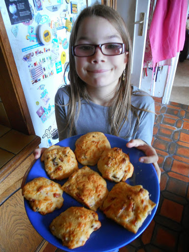 Madhouse recipe : Cheesy Bacon and Mushroom Biscuits