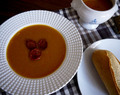 Roasted Butternut Squash and Chorizo Soup