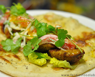 Recipe: Naan Bread . . . . . and Turkey Kebab