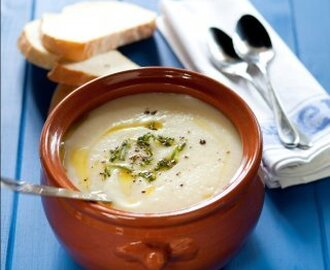 Creamy Chestnut and Parsnip Soup