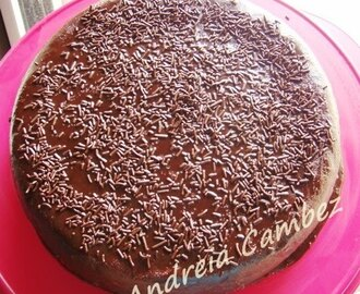 Bimby/Fussioncook - Devil´s Food Cake with Fudge