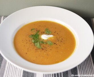 Winter 5:2 Diet Recipe – Sweet Potato and Carrot Soup