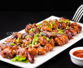 Honey Chicken / Honey Chilli Chicken - MeemisKitchen