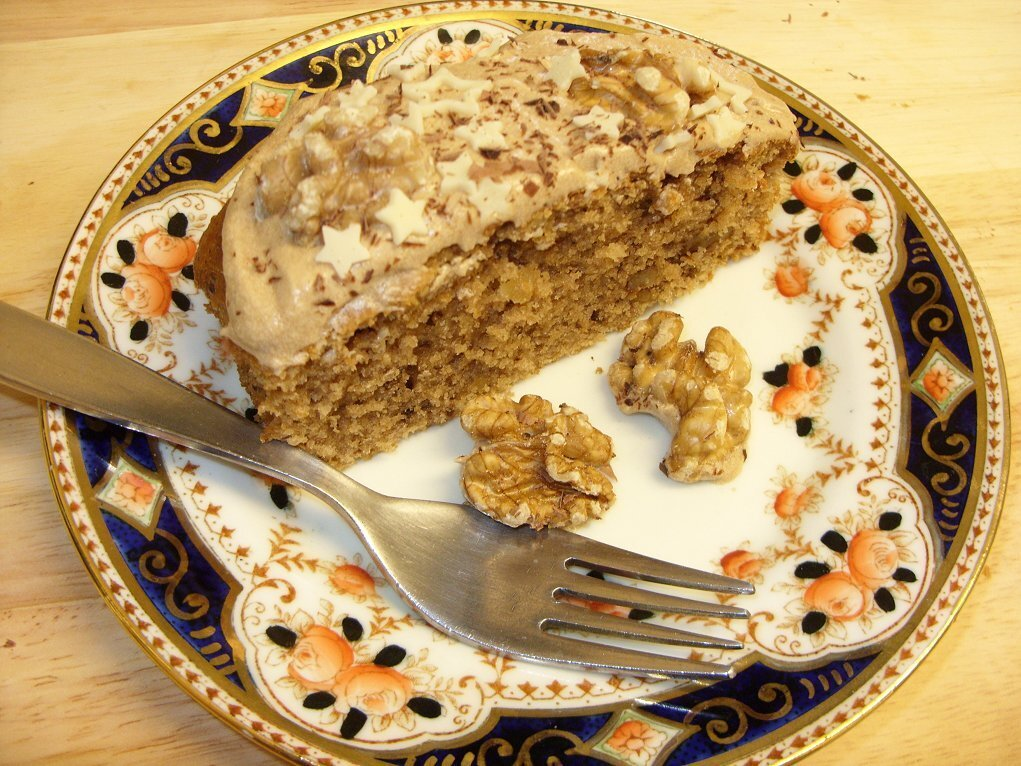 Coffee & Walnut Loaf - a perfect tea-time cake