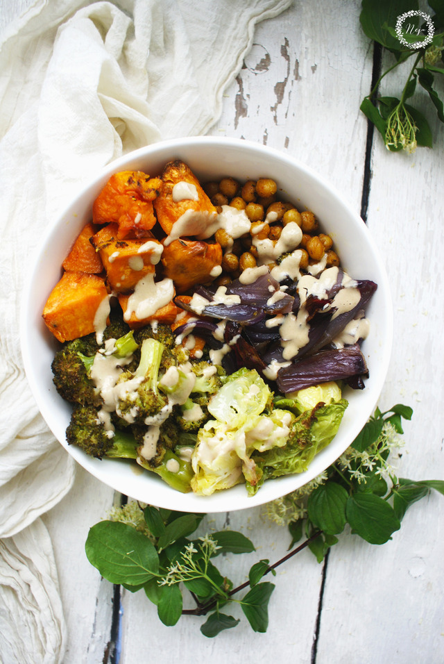 SWEET POTATO BUDDHA BOWL / BUDA BOVLA