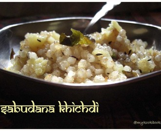 Sabudana Khichdi and some more awards