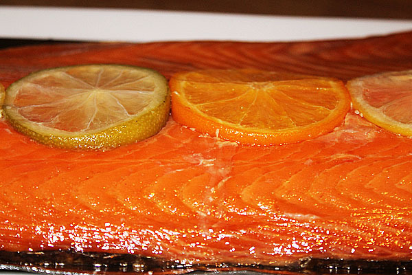 Giveaway: Win one of TWO Honey Roast Sides of Scottish Salmon from Delish Fish!