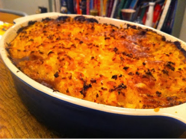 Comfort Food! 5:2 Diet Vegetarian Cottage Pie and a Delicious Side Dish in 10 Easy Steps
