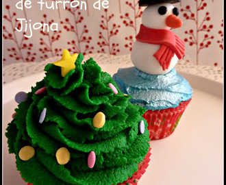 Christmas is coming: Cupcakes de turrón de Jijona... y premio!
