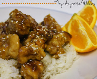 ActiFry Gluten-Free Sesame Orange Chicken Recipe